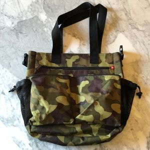 The Skip Hop Camouflage Baby Bag